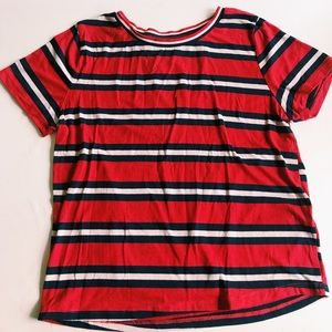 Charlotte Russe Striped Tee
